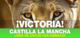Castilla- La Mancha prohíbe los circos con animales salvajes