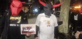 Cubo Tauromaquia Es Violencia celebrado en San Sebastián de los Reyes (Madrid)