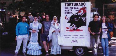 Campañas antitaurinas organizadas por ANDA