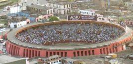 La bicentenaria plaza de toros de Lima se convierte en albergue por coronavirus