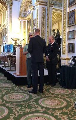 El Príncipe Guillermo de Inglaterra entregó al Seprona el Premio Wild Life Abroad 2018.